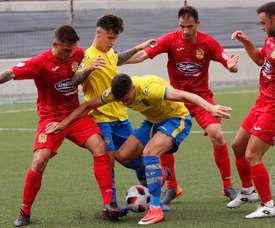 Las Palmas Atlético se medirá al Sanse. Twitter/UDLCP_Cantera