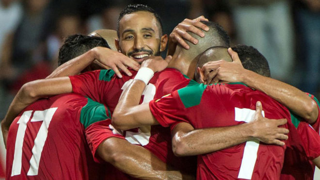 Le Maroc remporte son match haut la main face à l'Estonie. EFE