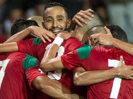Marruecos empató ante Ucrania. EFE/Archivo