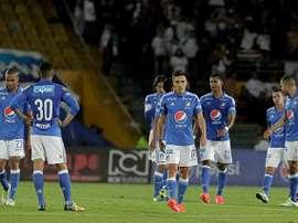 Millonarios, fuera de la Copa Libertadores. Colprensa