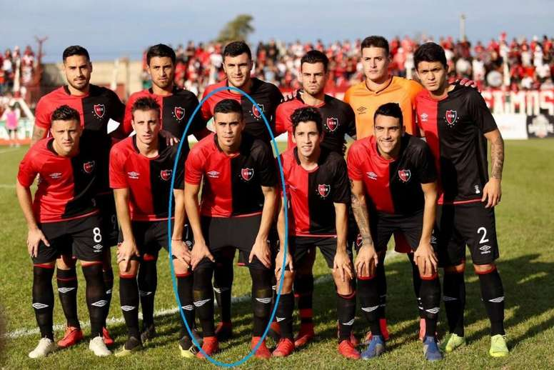 Biancucchi debutó con Newell's. Twitter/@CANOBoficial