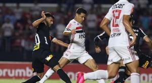 Sao Paulo y Corinthians firman tablas. SaoPauloFC