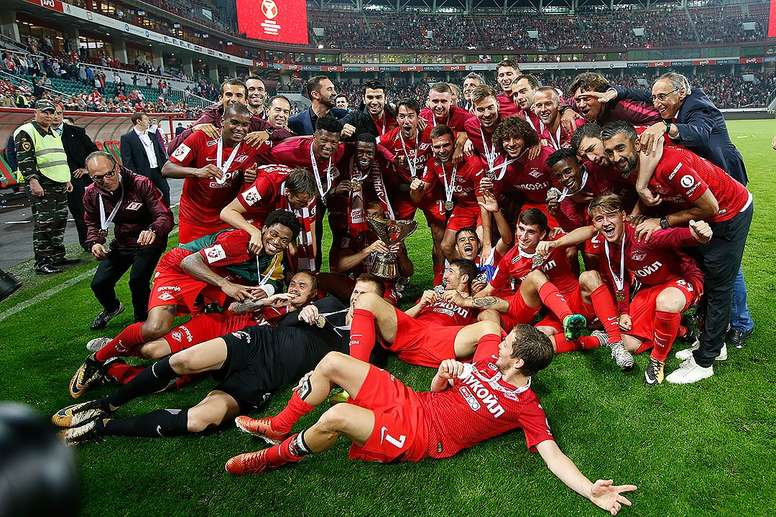Spartak are the top seed in group E. AFP