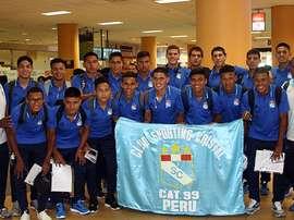 Jugadores de Sporting de Cristal juvenil. Capital967