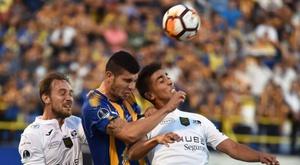 Luqueño logró una ventaja a tener en cuenta. AFP/NorbertoDuarte