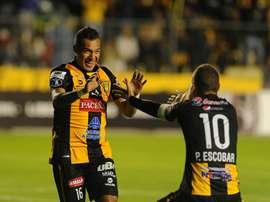 El club boliviano consigue el pase a la fase de grupos. Twitter/ClubStrongest