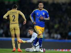 Pumas y Tigres no pasan del empate en la ida.. TigresOficial
