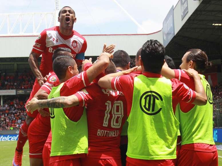 Toluca refuerza su plantilla con Cristian Borja. AFP/Archivo