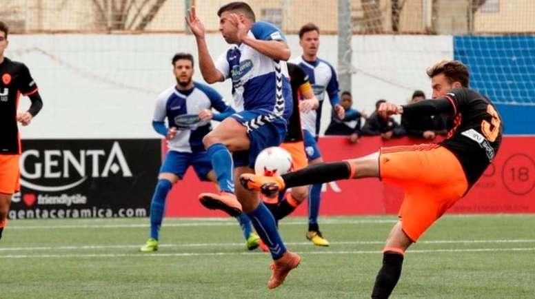 El filial 'che' acumulaba 14 partidos sin conocer la derrota. ValenciaCF