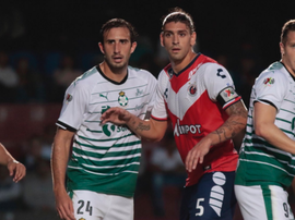Cristian Menéndez anotó un doblete ante Puebla. Veracruz