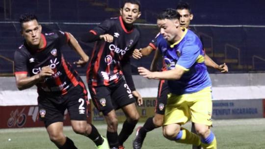 Empate a cero en la ida. Twitter/Managua_FC