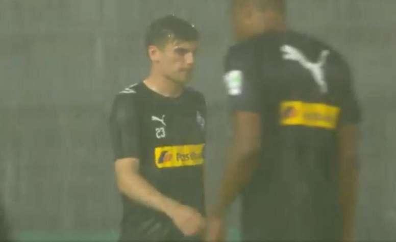 El partido pudo jugarse finalmente. DFBPokal