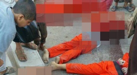 Les joueurs d'Al Shabab décapités par l'EI. Twitter
