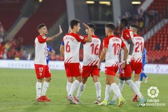 El Almería suma 15 goles en los siete partidos de Segunda hasta el momento. LaLiga