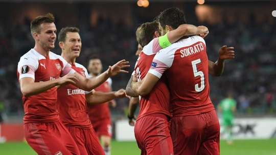 Sokratis is an injury concern for Unai Emery and Arsenal. ArsenalFC