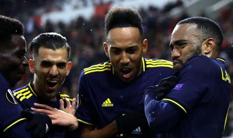 Arsenal won 1-0. Arsenal