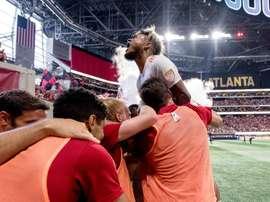 Josef Martínez empató la mejor marca de todos los tiempos de la MLS. @ATLUTD