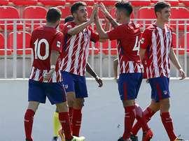 El Atlético B logra la victoria ante el Cerceda. Atleti
