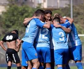 El filial blanquiazul ganó por 0-3 al Mancha Real. BeSoccer