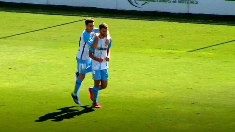 El Atlético Malagueño ganó. Captura/101TV