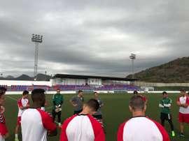 El Saguntino espera imponerse al Peña Deportiva. AtléticoSaguntino