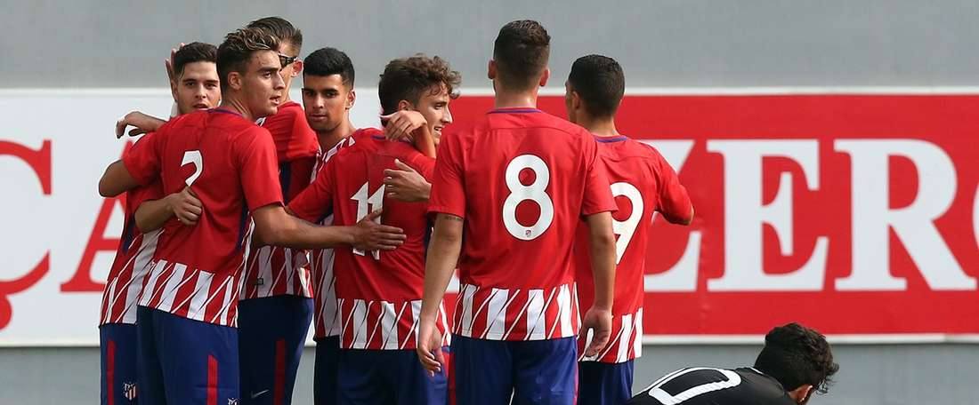 El Atlético ya está en octavos de final de la UEFA Youth League. AtletiAcademia