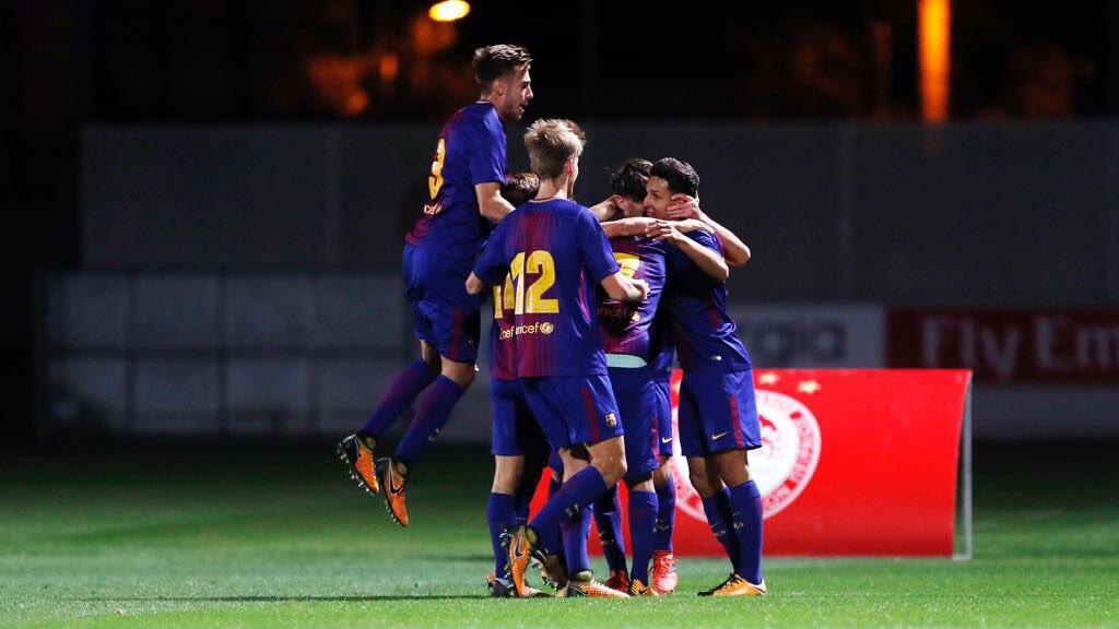Alejandro Marqués conquistó la Youth League con el Barcelona