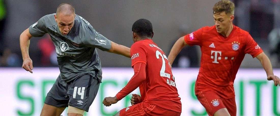 Une équipe de deuxième division surprend le Bayern en amical. Capture/Twitter/FCBayernES