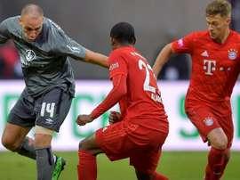 Equipe da segunda divisão envergonha o Bayern. Captura/Twitter/FCBayernES