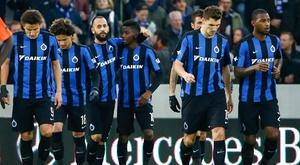 El Brujas ha vencido 3-0 en el partido inaugural de la tercera jornada belga. Brugge/Archivo