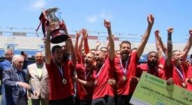 El CD Mensajero se llevó el trofeo en los penaltis. CDMensajero