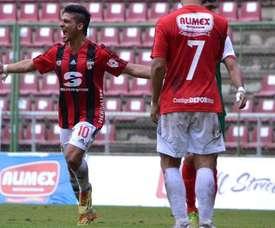 Jugadores del Deportivo Lara en el partido ante el Estudiantes de Mérida. Twitter.
