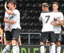 Derby have been in impressive form this season. DERBYCOUNTY
