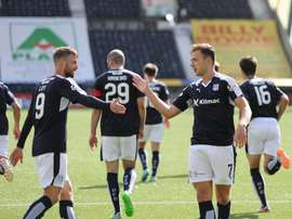 Dundee have had to take measures. Twitter/DundeeFC