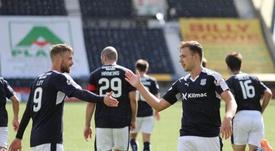 El Dundee FC habría tenido que despedir a parte de los trabajadores. Twitter/DundeeFC