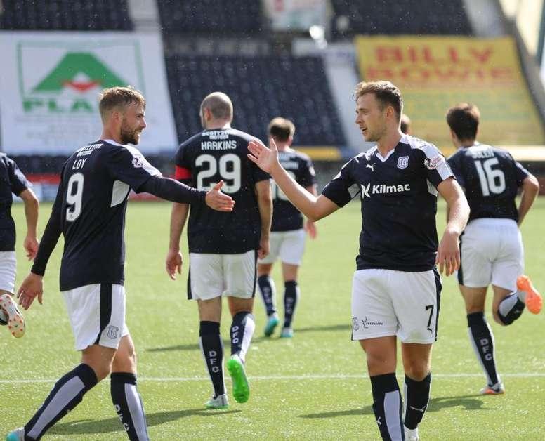 El Dundee votó a favor de su gran rival. Twitter/DundeeFC