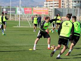 El centrocampista del Elche sufrió un lance de partido ante el Alcorcón. ElcheCF