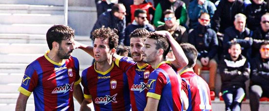 El Eldense tiene tres bajas para su visita a Barcelona. Twitter