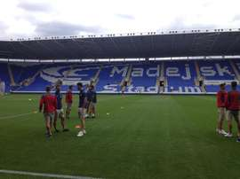 Reading's Madejski stadium. RCDEspanyol