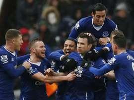 El Everton se impuso sin problemas al Stoke. Twitter