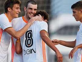 El Valencia Mestalla se adelanta en el camino a Segunda. ValenciaCF