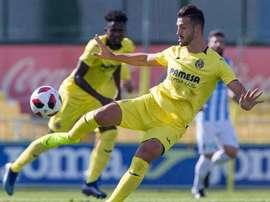 El Villarreal B perdió el liderato la pasada jornada. Twitter/VillarrealCF