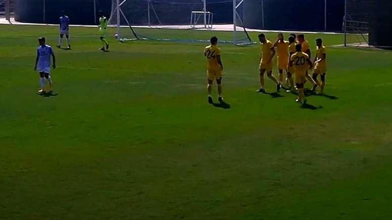 El Hércules-Peña Deportiva se jugará sin público. Captura/HérculesCF