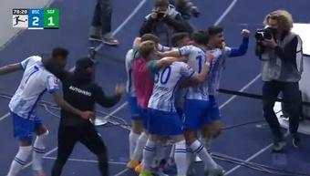 Ekkelenkamp debuta con gol para confirmar la reacción del Hertha