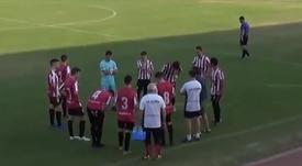 El Illueca rescata un punto en Borja. Captura/TV Calatayud