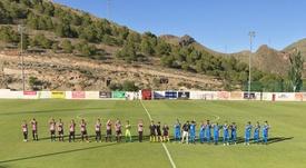 El Illueca empató sin goles por segunda jornada consecutiva. Twitter/cdelpalo