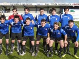 Jugadores del Izarra, uno de los equipo que se plantea renunciar a la categoría de bronce.