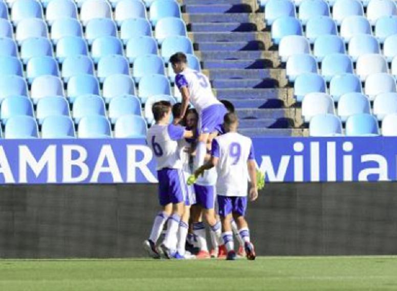 El Zaragoza pone el primer pie. RealZaragoza