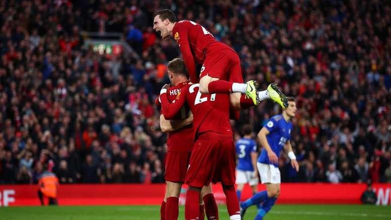El Liverpool consiguió los tres puntos 'in extremis'. LiverpoolFC