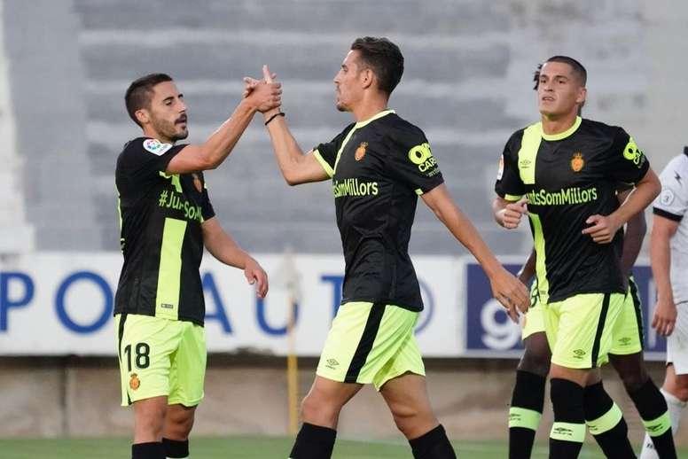 El Mallorca inauguró la temporada con goleada. RCDMallorca